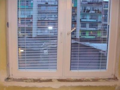 błąd montażu - okno o złych wymiarach