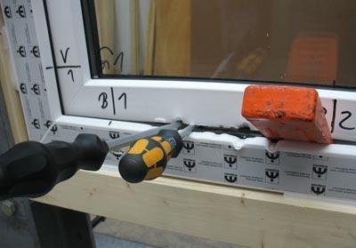 okno - badanie odporności na włamanie