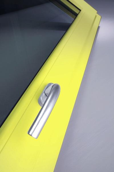 Żółte okno