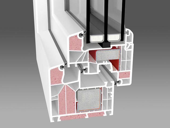 okno energooszczędne Passiv-line AdamS